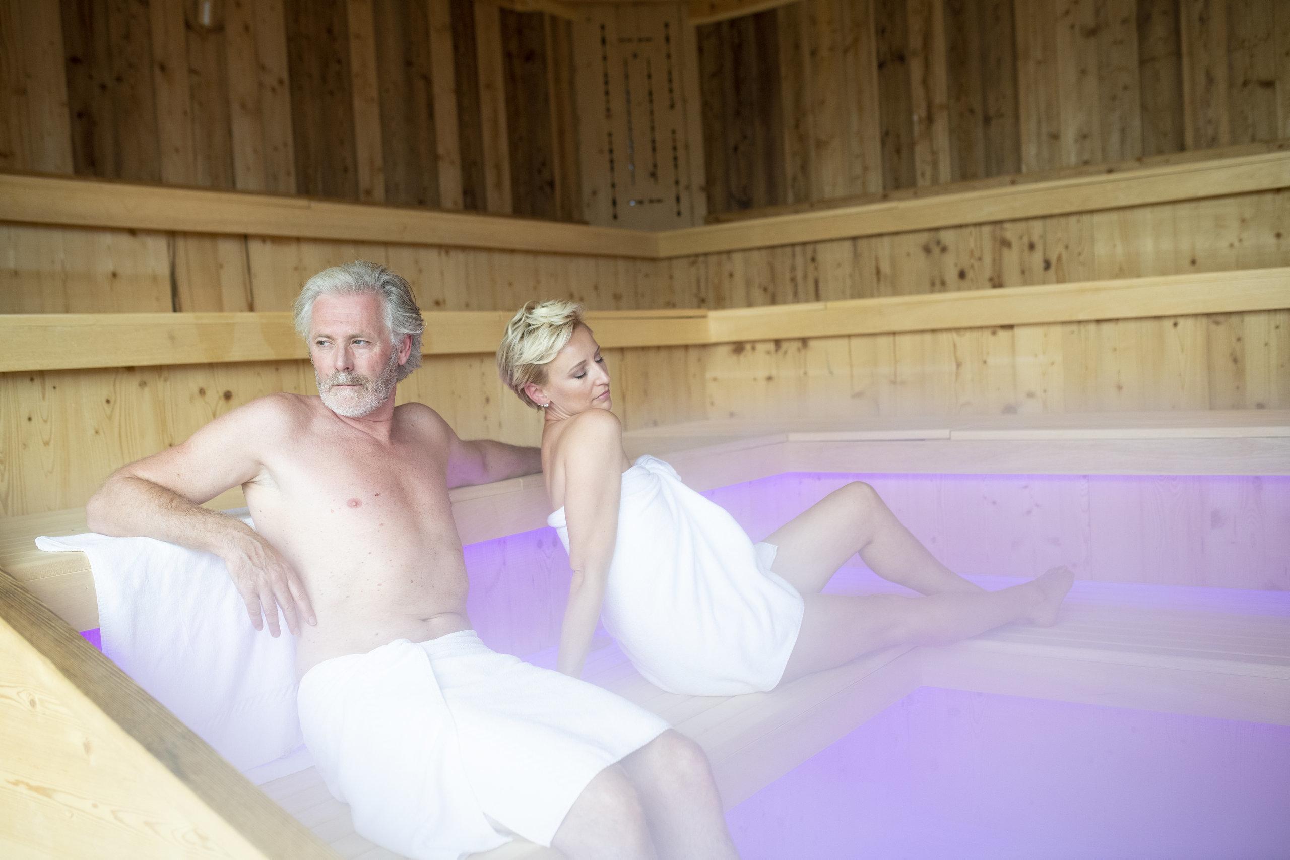 Muskelkater Sauna